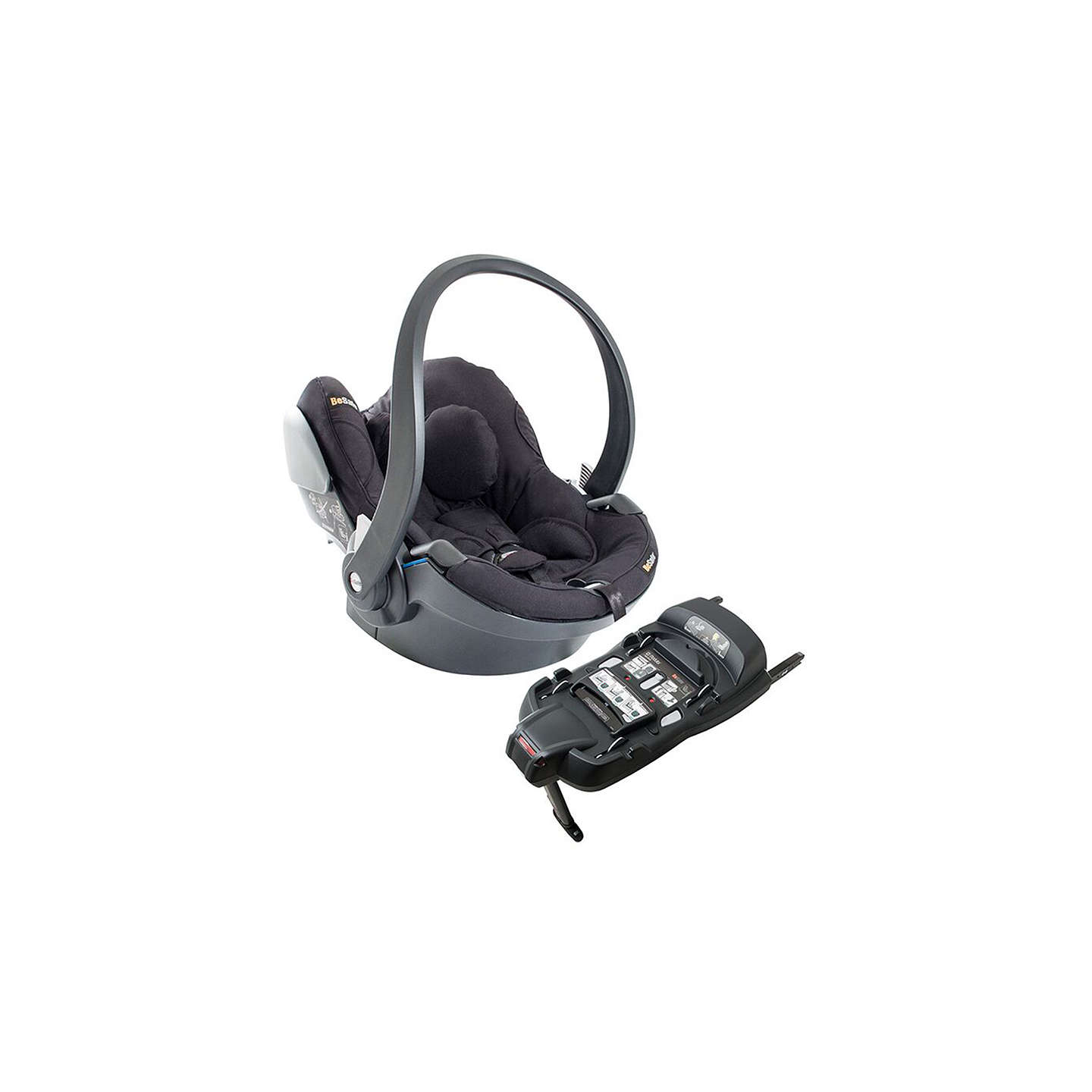 BuyBeSafe iZi Go Modular i-Size Group 0+ Baby Car Seat, Black Cab Online at johnlewis.com