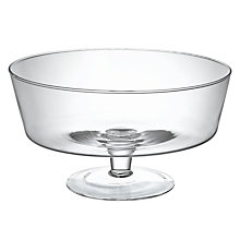 Buy John Lewis Trifle Bowl, Dia.26cm Online at johnlewis.com