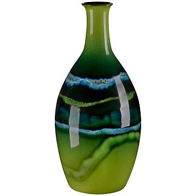 Poole Maya Tall Bottle Vase, H26cm