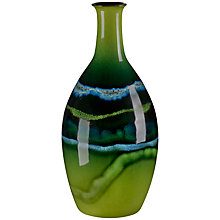 Buy Poole Maya Tall Bottle Vase, H26cm Online at johnlewis.com