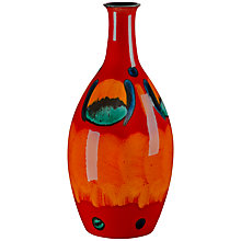 Buy Poole Volcano Tall Bottle Vase, H26cm Online at johnlewis.com