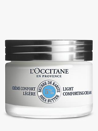 L'Occitane Light Shea Comforting Cream, 50ml