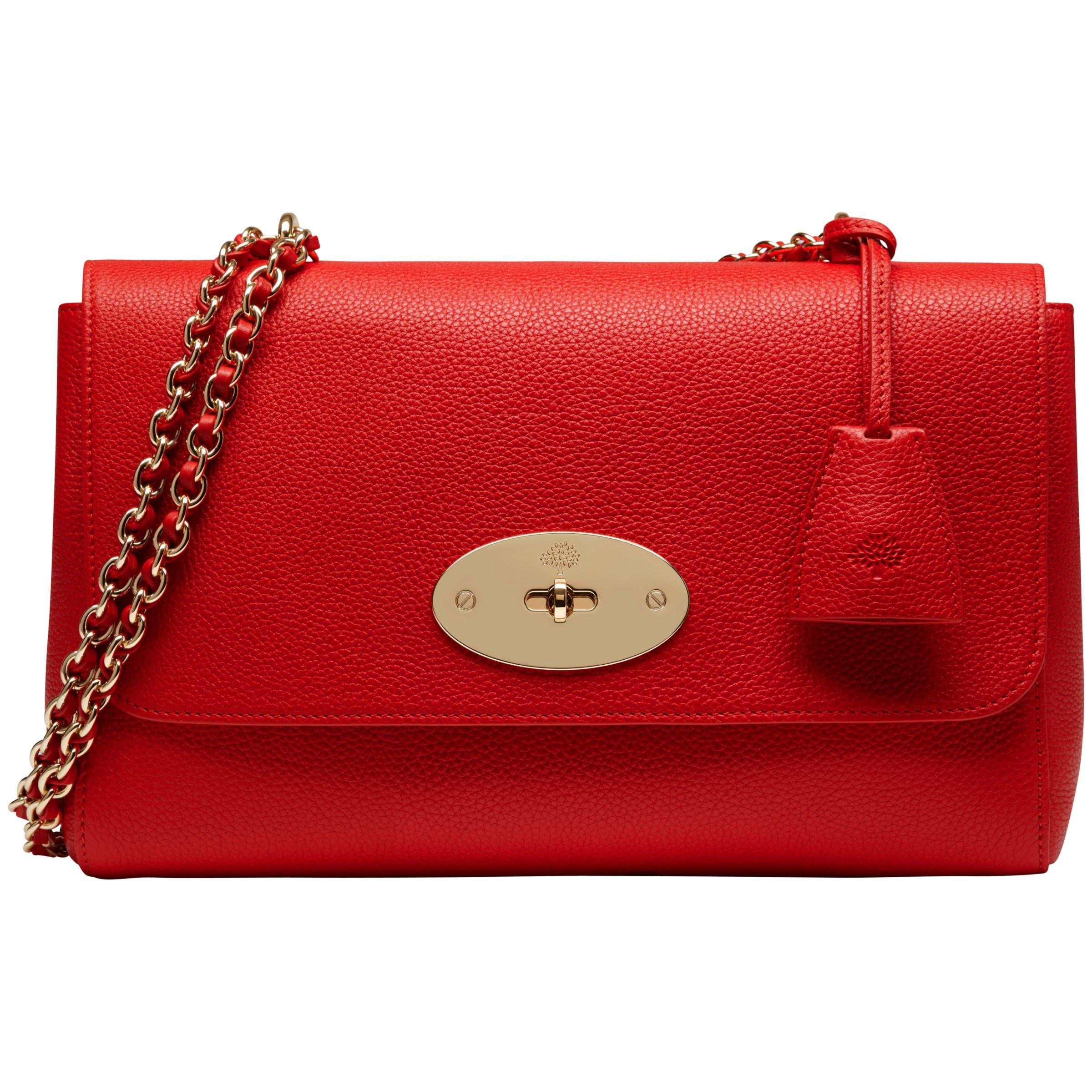 217b4c284f88 Mulberry Medium Lily Leather Shoulder Bag