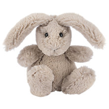 Buy Jellycat Poppet Little Beige Bunny Soft Toy, 10cm Online at johnlewis.com