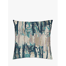 Buy Harlequin Takara Cushion, Teal / Ink Online at johnlewis.com