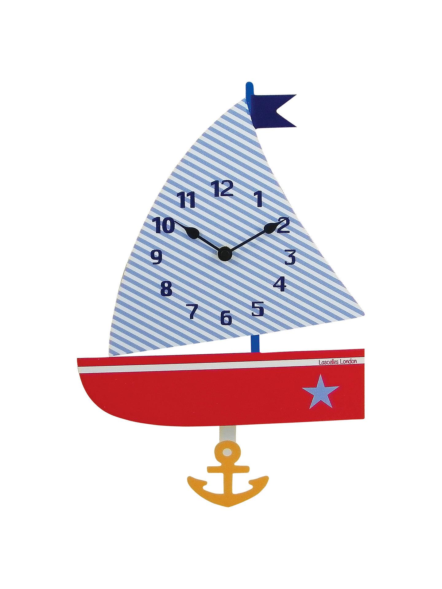 Roger Lascelles Children S Boat Pendulum Clock At John