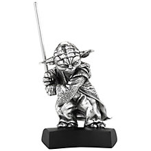 Buy Royal Selangor Star Wars Yoda Figurine Online at johnlewis.com