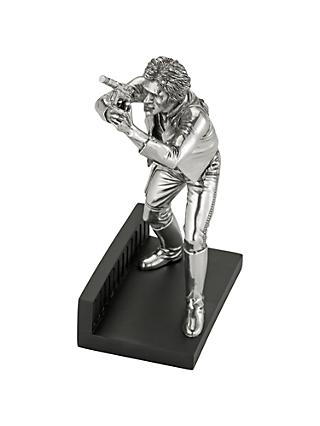 Royal Selangor Star Wars Limited Edition Hans Solo Pewter Figurine
