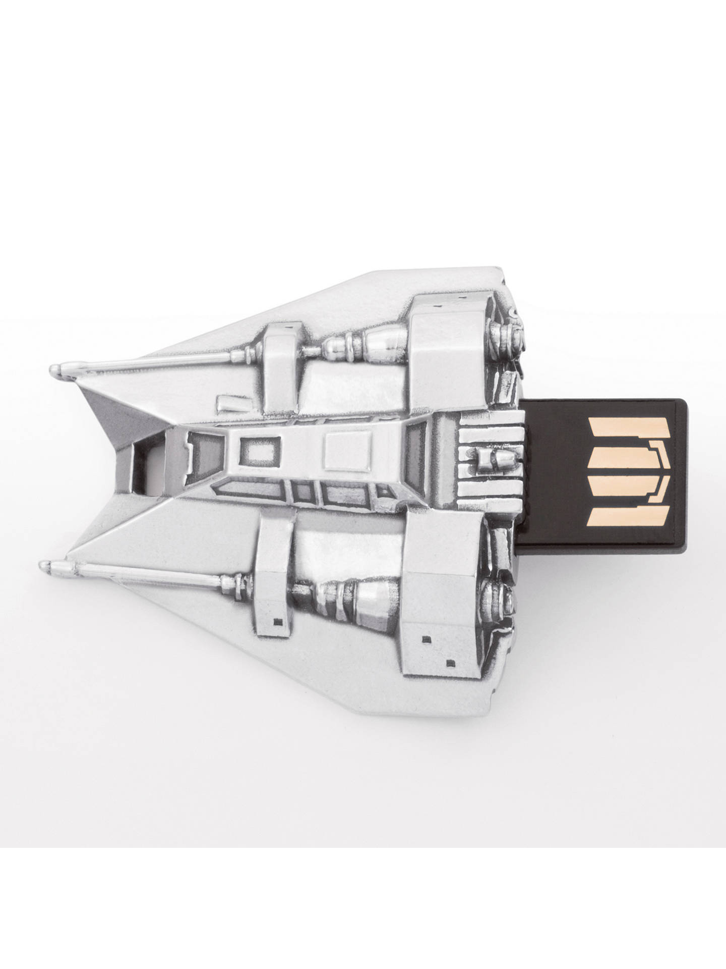 Buy Royal Selangor Star Wars Snowspeeder USB Flash Drive, 16GB Online at johnlewis.com