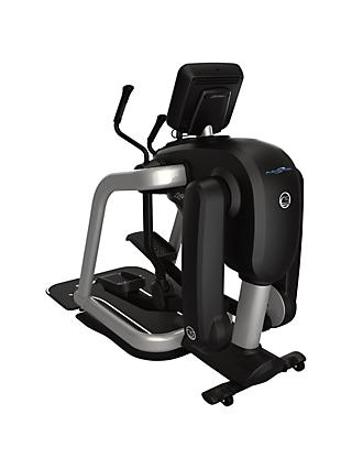 Life Fitness FlexStrider Cross Trainer With Discover SE3HD, Black