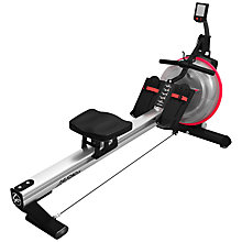 Buy Life Fitness Row GX Trainer, Silver/Black/Red Online at johnlewis.com