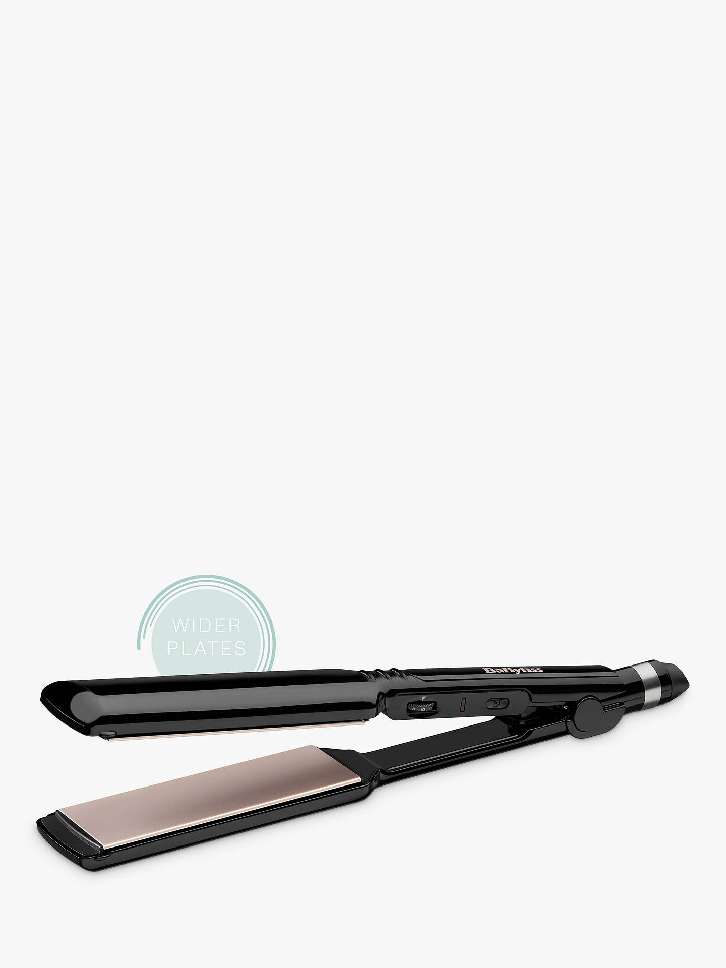 Buy BaByliss 2179U Sleek Control Wide Straightener Online at johnlewis.com