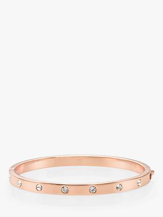 kate spade new york Glass Stone Hinged Bangle