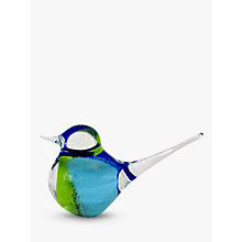 Buy Svaja Basil Bird Ornament, Blue/Green Online at johnlewis.com