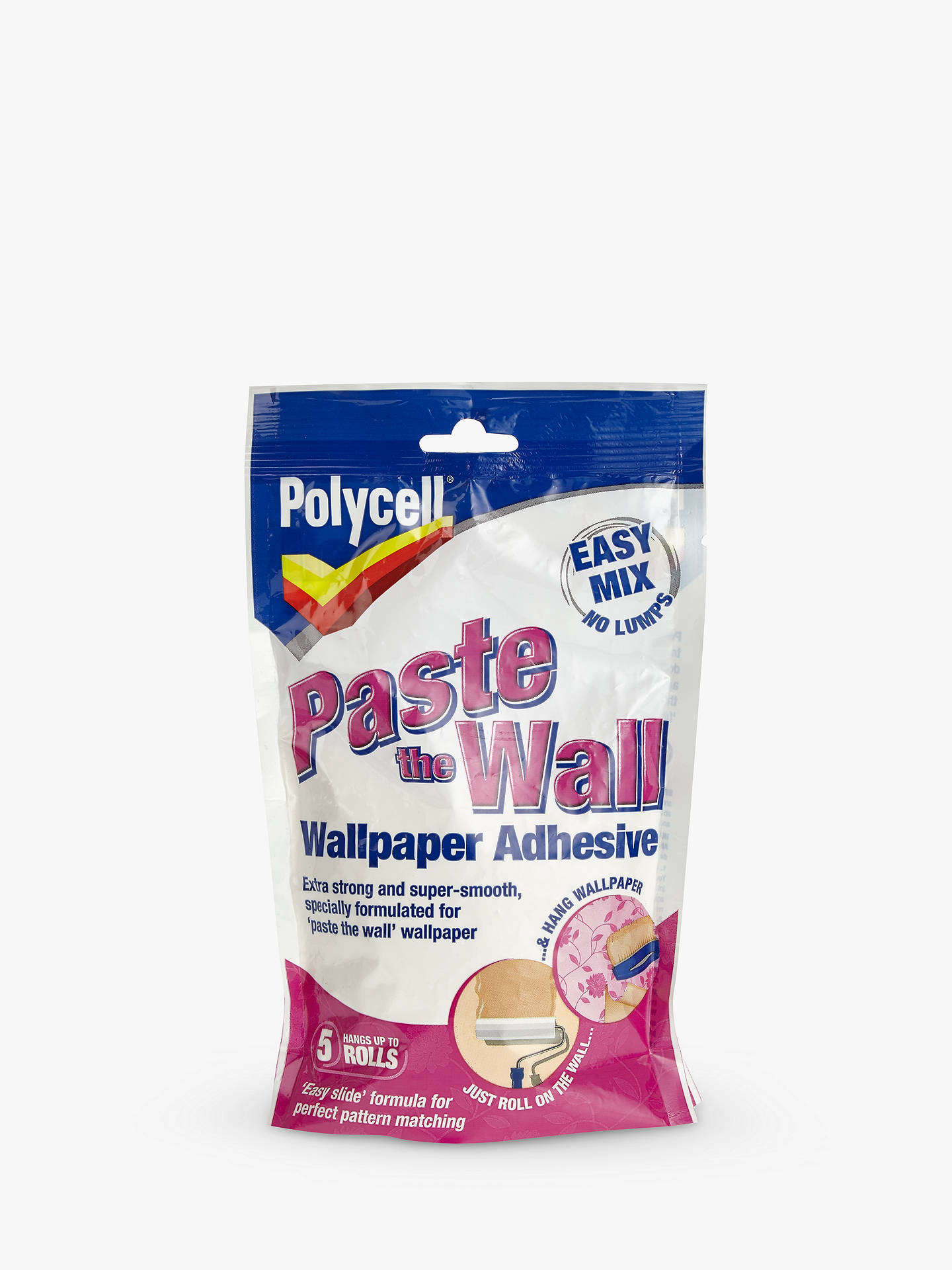 Polycell Paste the Wall Wallpaper Adhesive at John Lewis ...