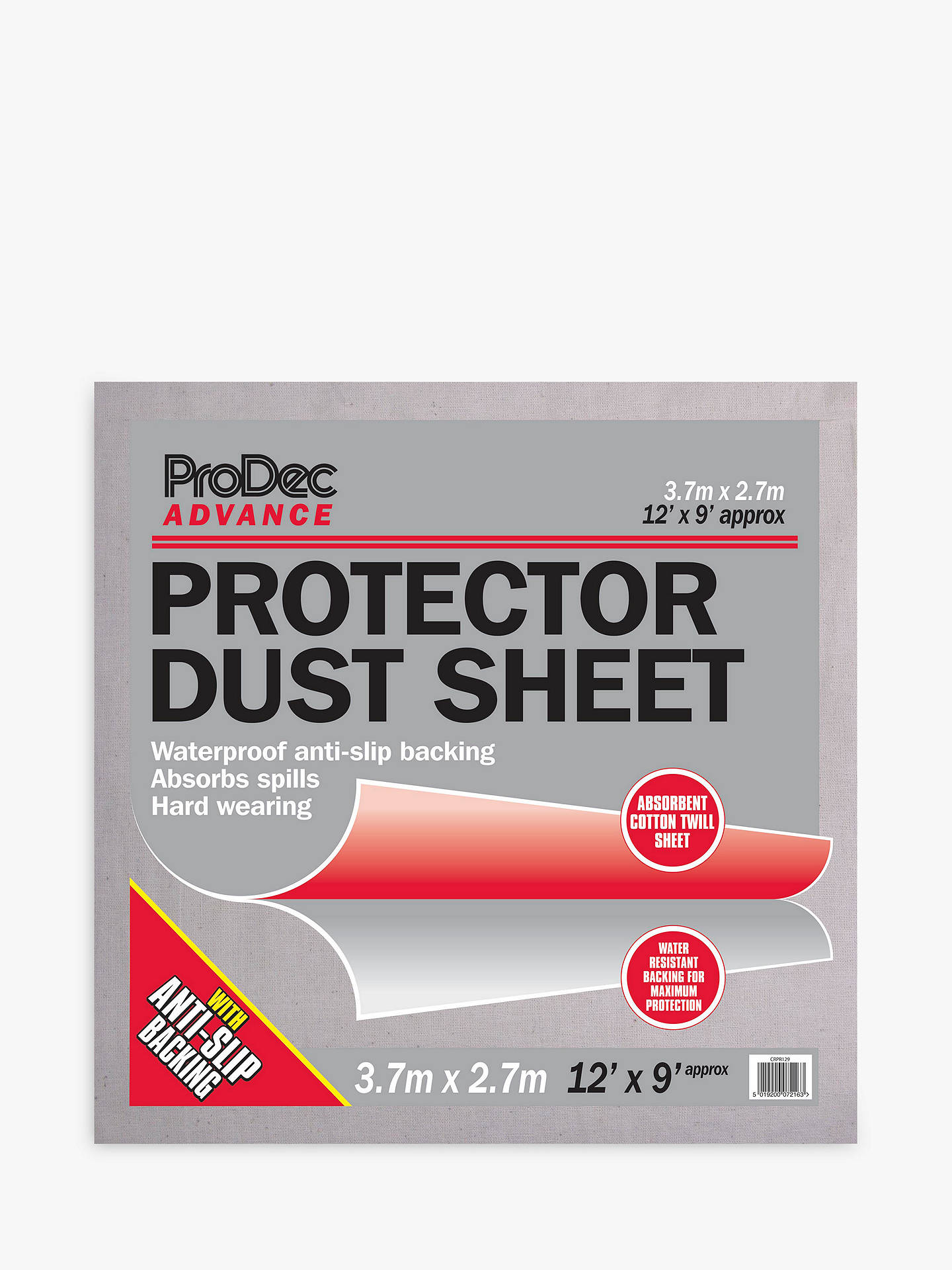 Buy ProDec Advance Dust Protector Sheet Online at johnlewis.com