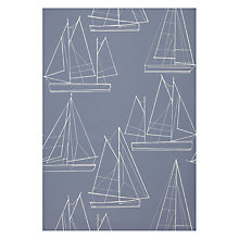 Buy John Lewis Sailing Blueprint Wallpaper Online at johnlewis.com