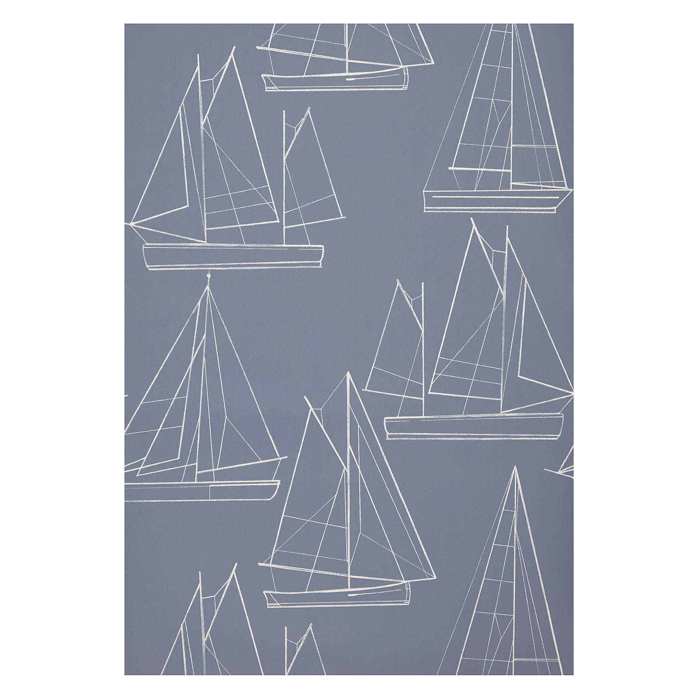 John lewis sailing blueprint wallpaper at john lewis buyjohn lewis sailing blueprint wallpaper blueprint online at johnlewis malvernweather Choice Image