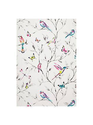 John Lewis & Partners Hummingbird Trees Wallpaper, Multi