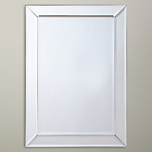 Buy John Lewis Bevel Simple Mirror, 50 x 70cm Online at johnlewis.com