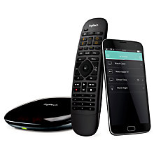 Buy Logitech Smart Home Harmony Companion Pack With Hub And Remote Online at johnlewis.com