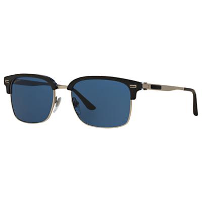 BVLGARI BV6080B Aviator Sunglasses, Brown