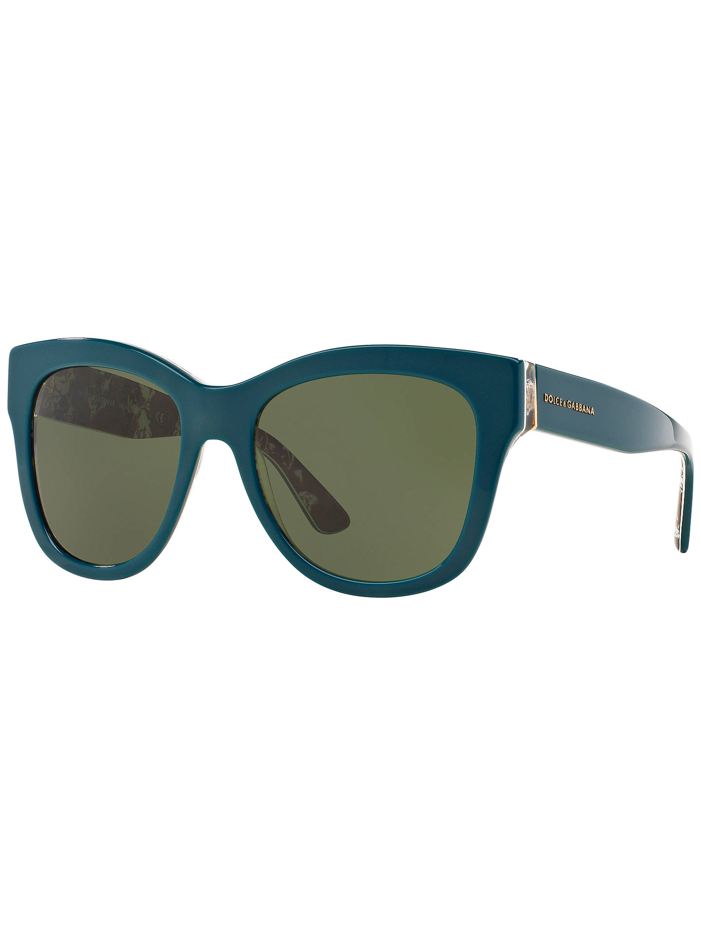 7b4799711c Dolce   Gabbana DG4270 Mama s Brocade Polarised Square Sunglasses at ...