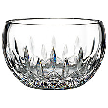Buy Waterford Giftology Lismore Small Candy Bowl Online at johnlewis.com