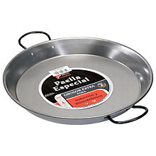 Buy Vaello Campos Carbon Steel Paella Pan, 30cm Online at johnlewis.com