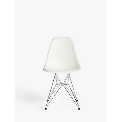 Vitra Eames DSR Side Chair, Chrome Leg