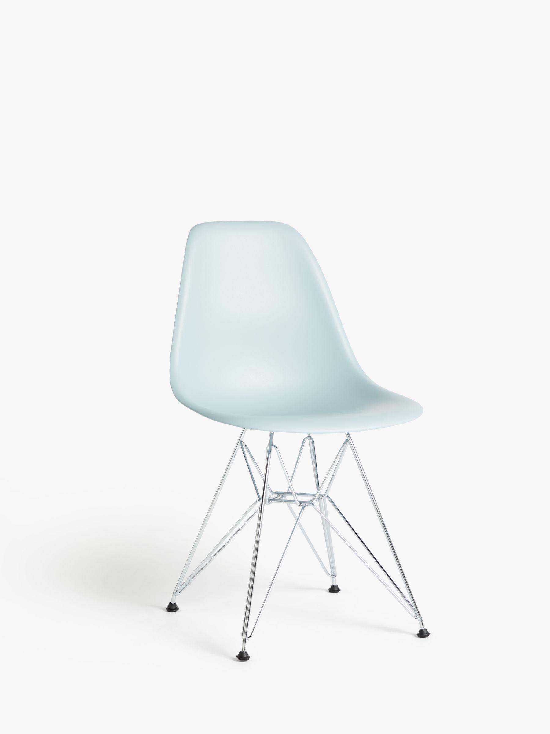 Vitra Vitra Eames DSR Side Chair, Chrome Leg