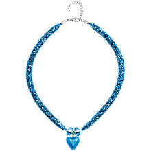 Buy Martick Spacedust Murano Heart Necklace Online at johnlewis.com