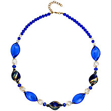 Buy Martick Twist Murano Glass Necklace Online at johnlewis.com