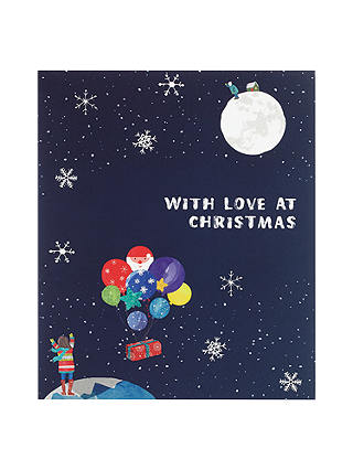 Buy John Lewis Man on the Moon Christmas Card, In Partnership With Age UK Online at johnlewis.com