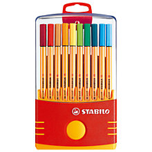 Buy Swan Stabilo Pen 88 Wallet 20pcs Online at johnlewis.com