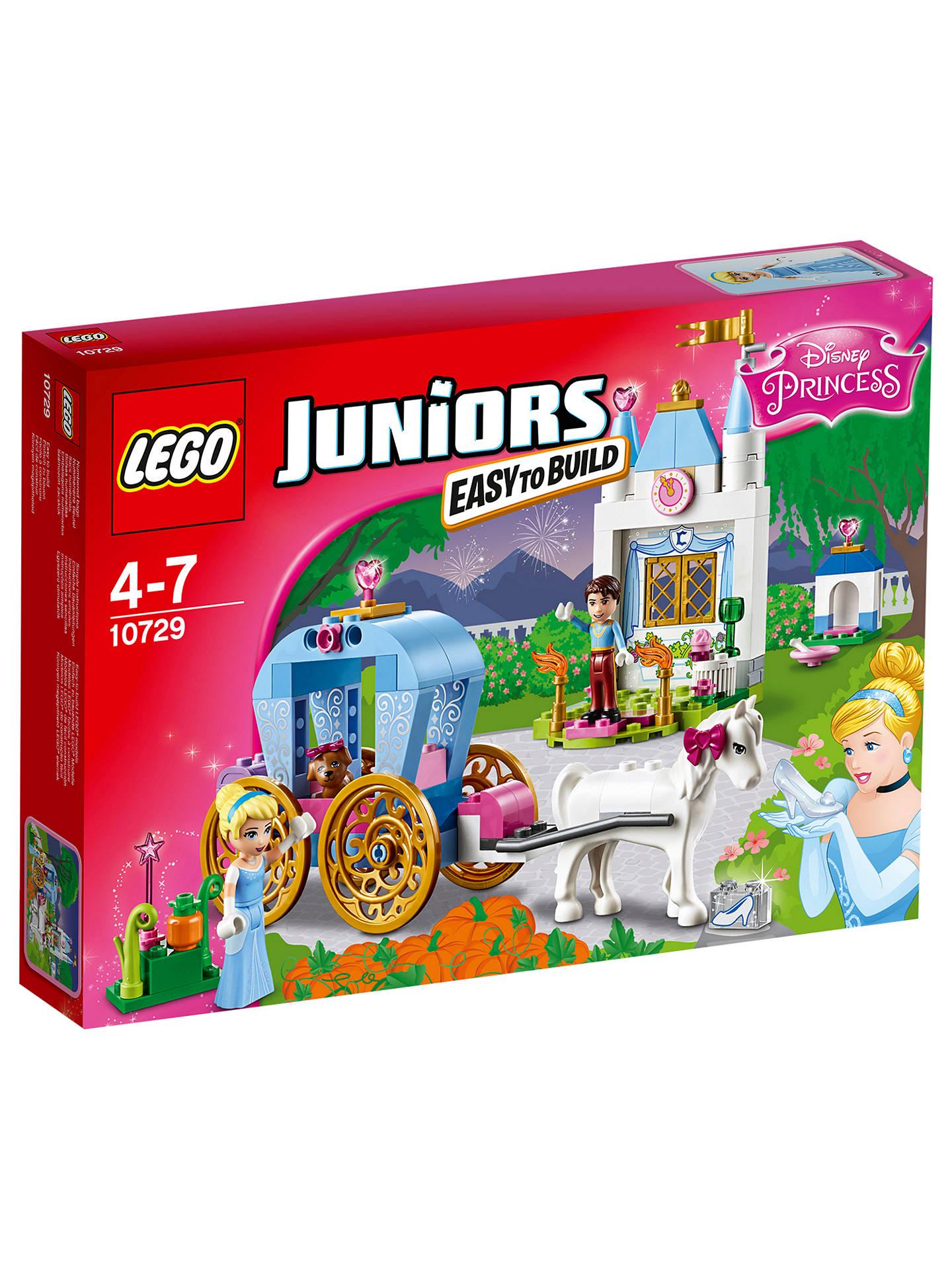 Lego Juniors 10729 Cinderella Carriage At John Lewis