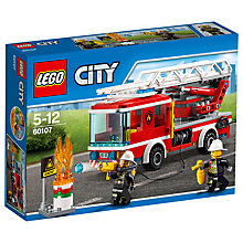 Buy LEGO City 60107 Fire Ladder Truck Online at johnlewis.com