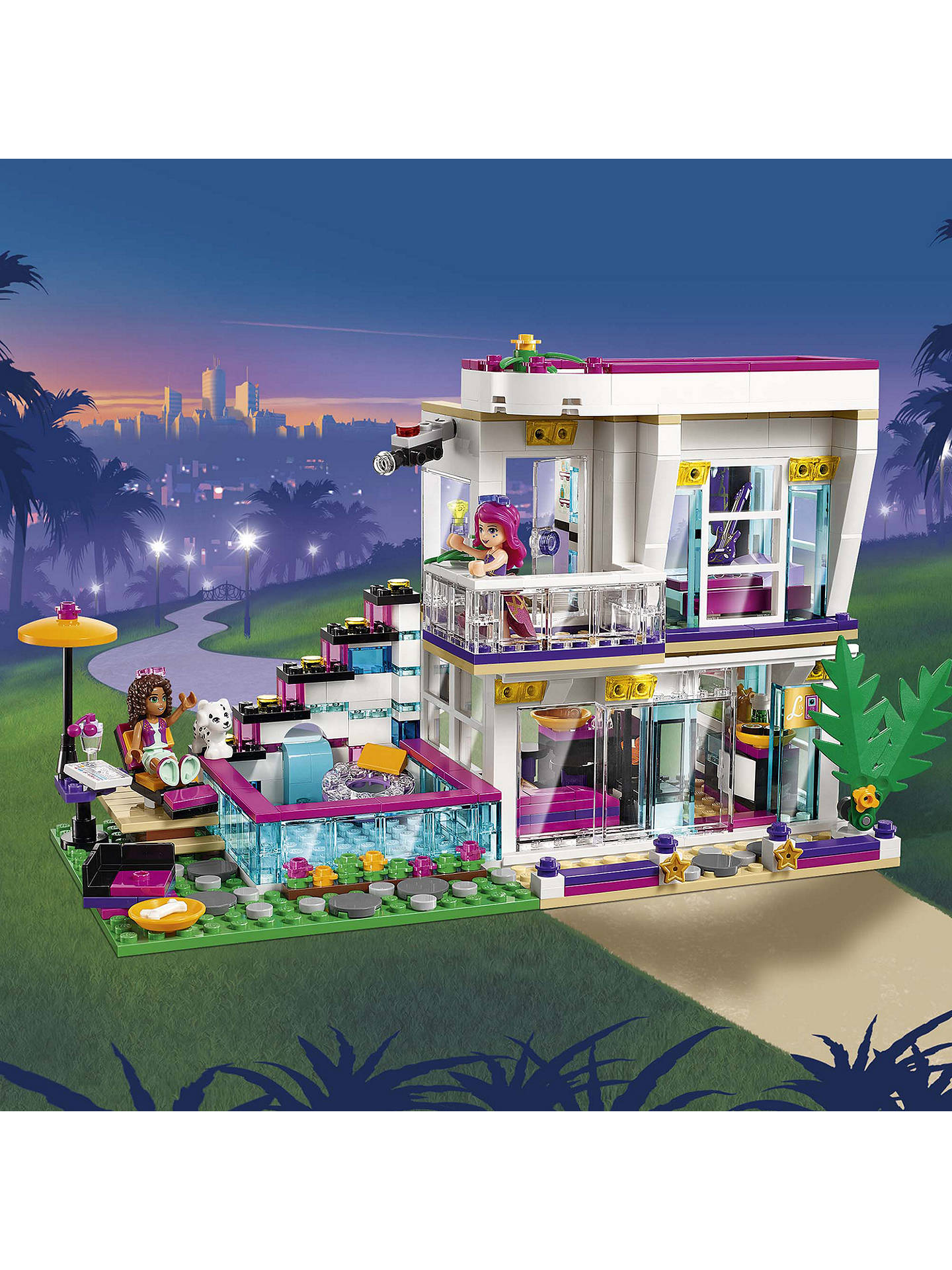 Lego Friends 41135 Livis Pop Star House At John Lewis Partners