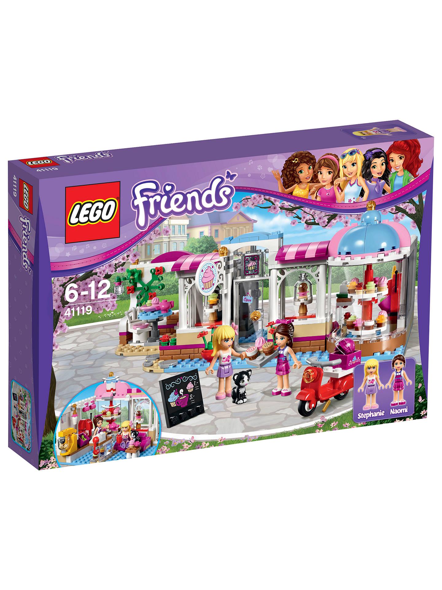 LEGO Friends 41119 Heartlake Cupcake Cafe at John Lewis ...