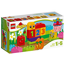 Buy LEGO DUPLO 10831 My First Caterpillar Online at johnlewis.com