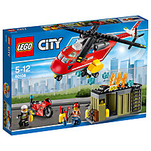 Buy LEGO City 60108 Fire Response Unit Online at johnlewis.com