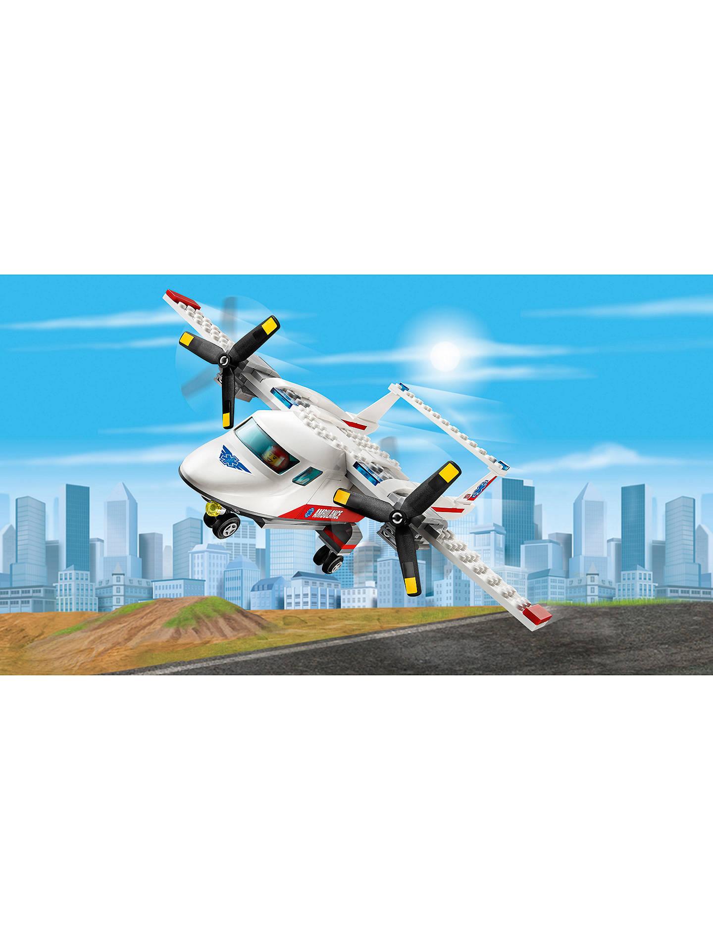 LEGO City 60116 Ambulance Plane at John Lewis & Partners
