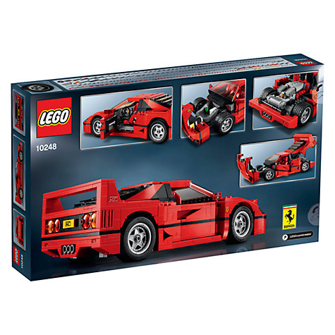 buy lego creator 10248 ferrari f40 john lewis. Black Bedroom Furniture Sets. Home Design Ideas