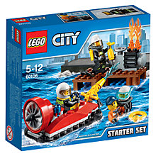 Buy LEGO City 60106 Fire Starter Set Online at johnlewis.com