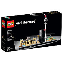 Buy LEGO Architecture 21027 Berlin Online at johnlewis.com