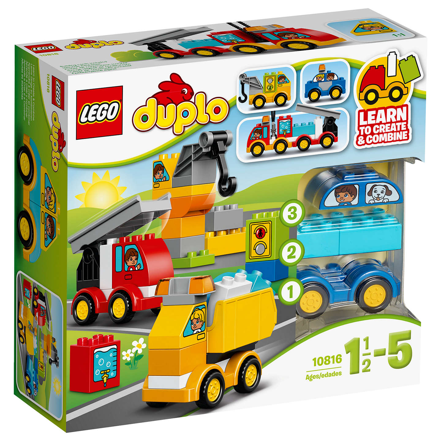 BuyLEGO DUPLO 10816 My First Cars U0026 Trucks Online At Johnlewis. ...