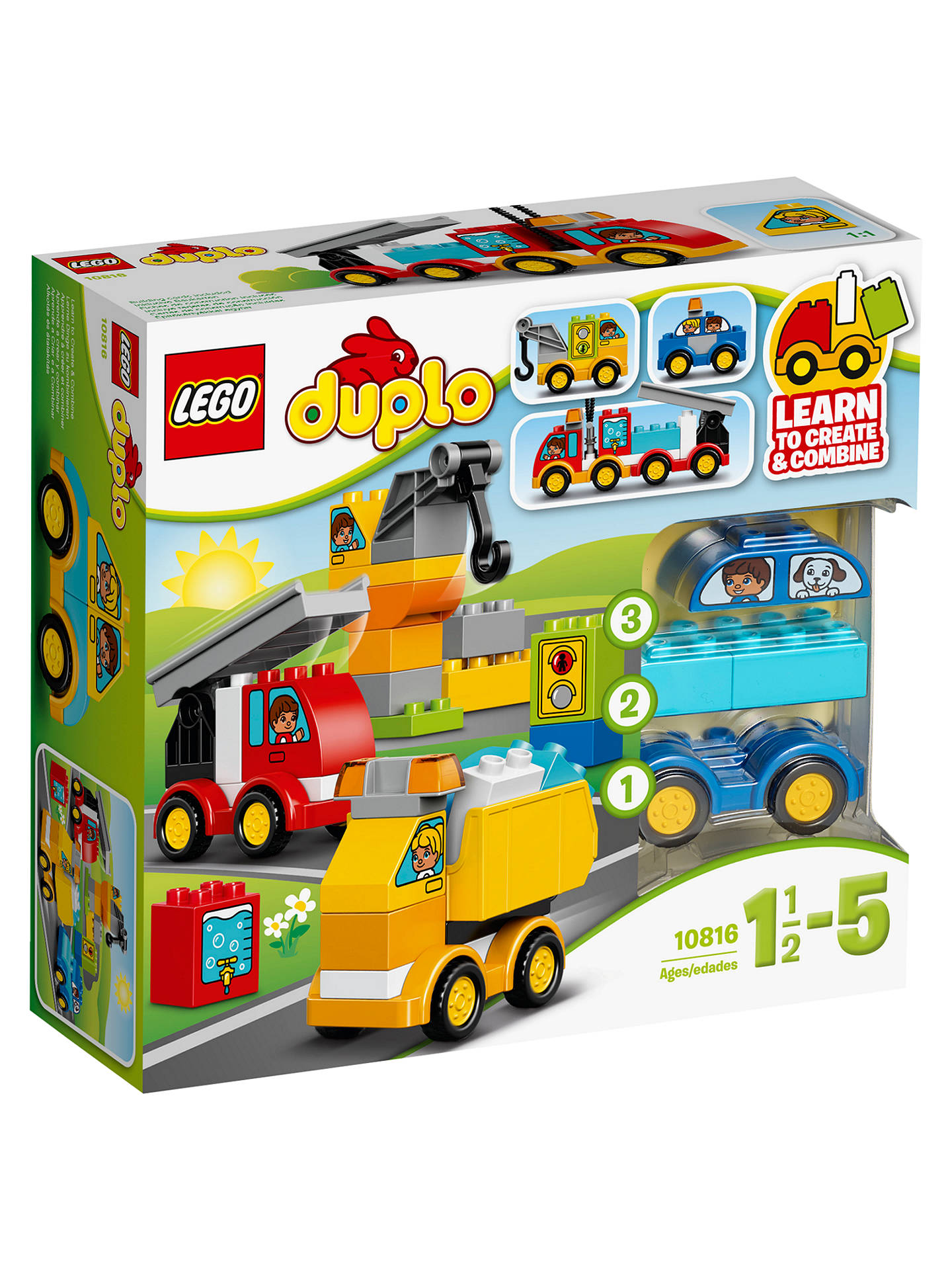 BuyLEGO DUPLO 10816 My First Cars & Trucks Online at johnlewis.com
