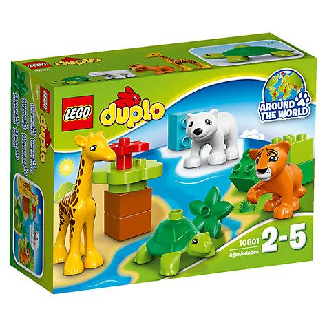 Buy Lego Duplo 10801 Baby Animals John Lewis