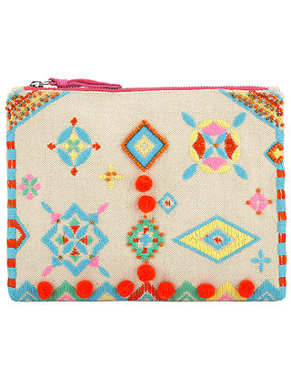Buy Collection WEEKEND by John Lewis Motif Clutch Bag, Multi Online at johnlewis.com