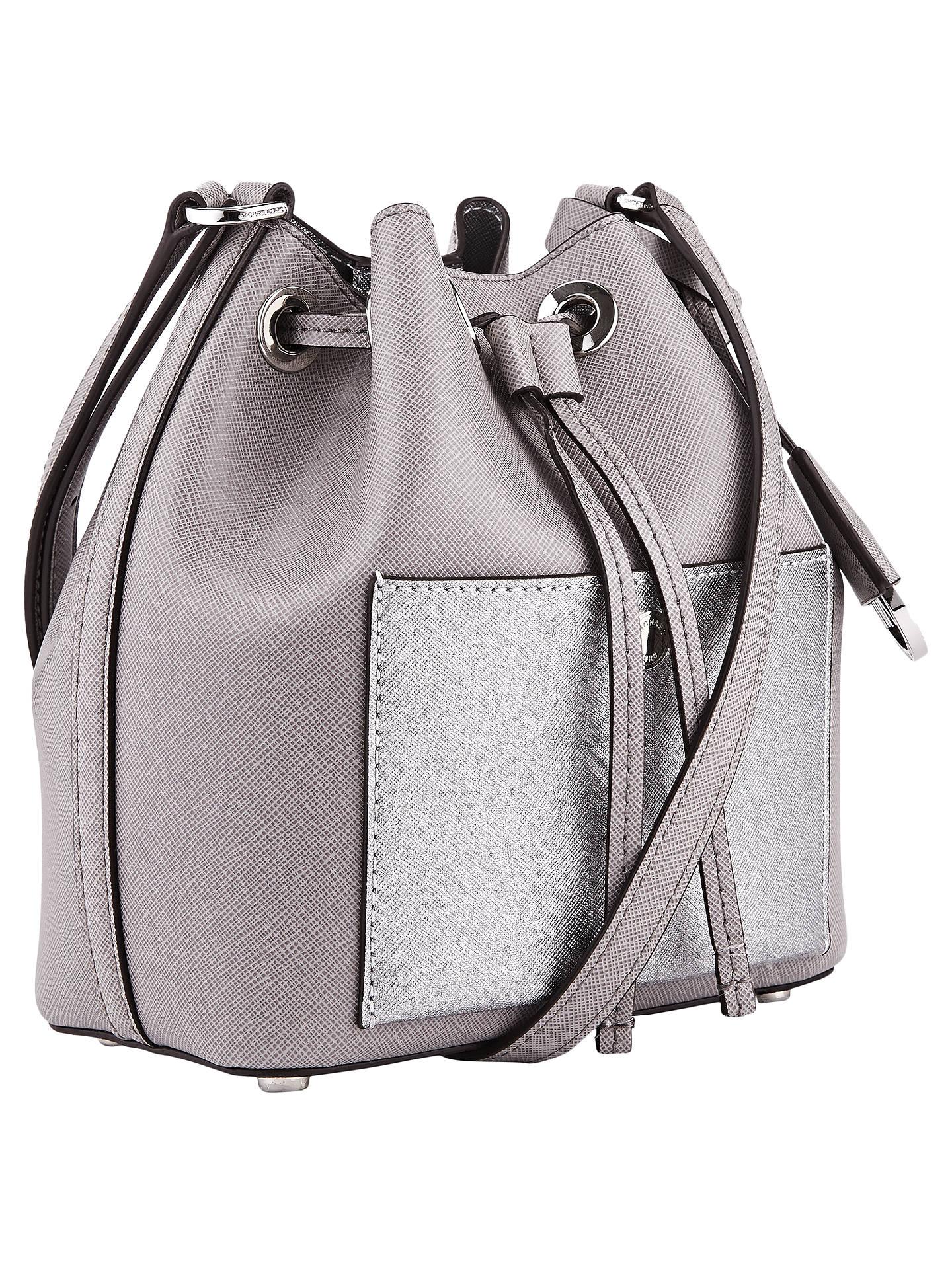 2a4a4abaaf MICHAEL Michael Kors Greenwich Small Bucket Bag at John Lewis   Partners